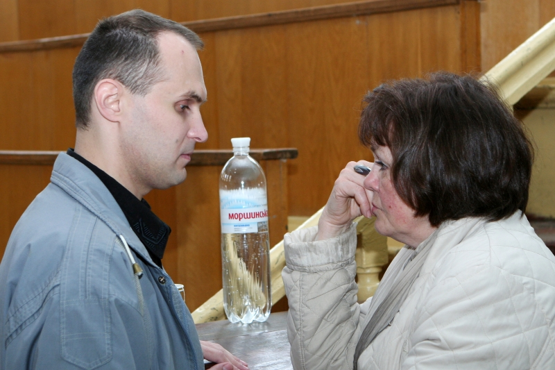 Алеша и Галина Миккин